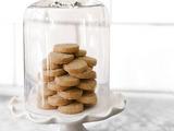 Cardamom-Semolina Shortbread Cookies