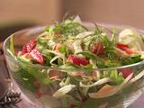 Fennel, Arugula and Strawberry Salad