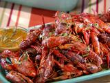 Grilled Crawfish with Spicy Tarragon Butter