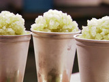 Frozen Lemon Mint Juleps