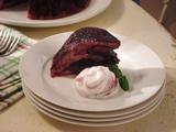 Minted Cherry Summer Pudding