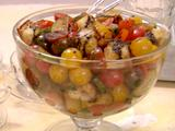Baby Heirloom Tomato and Cucumber Salad