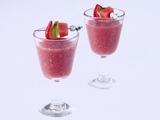 Watermelon, Strawberry and Tequila Agua Fresca