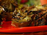 Grilled Artichokes with Green Goddess Dressing