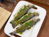 Grilled Whole Fish, Greek-Style