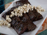 Marinated Skirt Steak with Quick-Pickled Feta