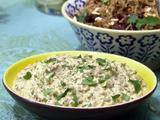 Roasted Eggplant Salad (Baingan Bharta)