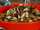 Grilled Fingerling Potato Salad with Feta, Green Beans and Olives