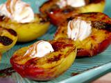 Grilled Peaches with Wine Syrup Two Ways
