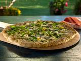 Pizza with Shaved Asparagus and Robiola