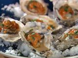 Grilled Oysters with Fra Diavolo Sauce