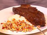 Zinfandel Glazed BBQ Beef Short Ribs