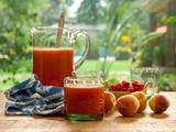 Raspberry Peach Aqua Fresca