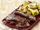 Grilled Korean-Style Skirt Steak