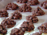 Cherry Almond Chocolate Clusters