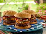 Pimiento Cheese-Bacon Burger