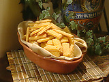 Zesty Cheese Straws