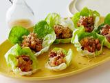 Bibb Lettuce and Shrimp Wraps