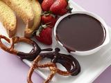 Slow Cooker Chocolate Fondue