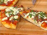 Emeril's of Orlando's Capicolla Ham and Homemade Mozzarella Cheese Pizza