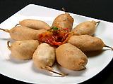 Vegetarian Tempura Fried Peppers