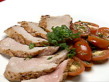 Pork Tenderloin with Dijon Brown Sauce