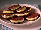 Italian Chocolate Sandwich Cookie