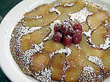 Babcock Peach or Braeburn Apple Pancake Tatins