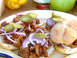 Slow Cooked Apple Smoked Barbecue Pork