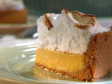 Orange Lime Pie with Meringue Topping