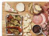 Antipasto Platter With Grilled Vegetables