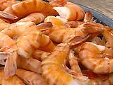Poached Cajun Shrimp