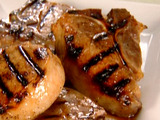 Grilled Pork Chops with Orange Glaze