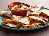 Chorizo and Shrimp Quesadillas with Smoky Guacamole