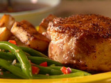 Spicy Pork Roast with Rosemary Potatoes