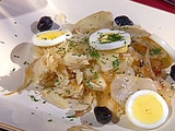 Salt Cod, Onions and Potatoes: Bacalhau A Gomes De Sa