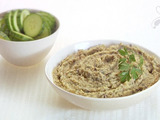 White Bean and Roasted Eggplant Hummus
