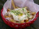 Cheesy Fries with Ham and Egg