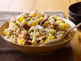 Mushroom and Fall Squash Barley Risotto