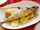 Roasted Whole Mackerel