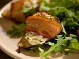 Roasted Baby Pears with Herbed Goat Cheese