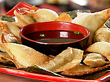 Fried Edamame Dumplings