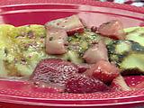Strawberry Rhubarb Zinfandel Crepes