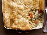 Chicken Potpie With Cheddar Crust