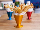 Pommes Frites (French Fries) with Fresh Mayonnaise