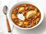 Pierogi and Squash Stew