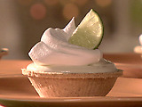 Individual Lime Cheesecakes