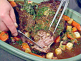 Garlic-Studded Pot Roast