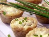 Mini Artichoke and Gruyere Quiche