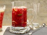 Pomegranate Beer Punch